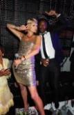 Freddie Achom with US Supestar Paris Hilton