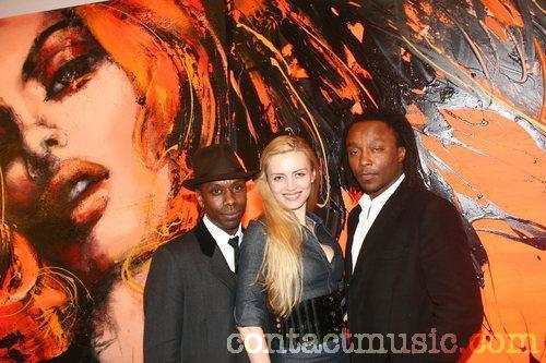Freddie Achom with Lana Holloway and Antony Picture
