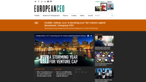 Fred Achom in European CEO
