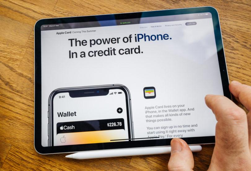 Apple iPhone Credit Card